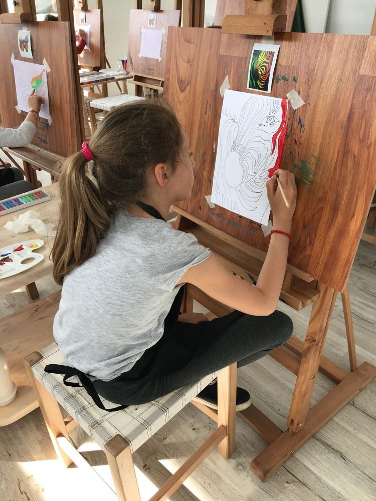 Cursuri pictura Copii 9-14 ani